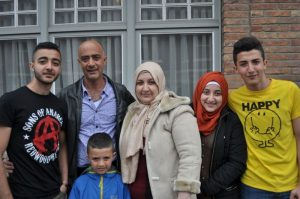 syrisch gezin huurders