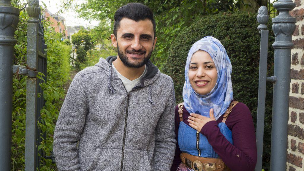 Luay en Zahraa, van Bagdad naar Borgloon
