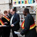 Vluchtelingen even burgemeester in Aalst