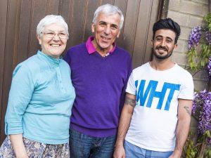 Lieve, Marcel en Rochehat huizen samen, dankzij de melding Tijdelijk Wonen
