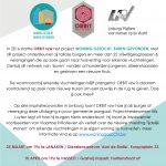 25/03 – 10/04 Inspiratieavonden Limburg